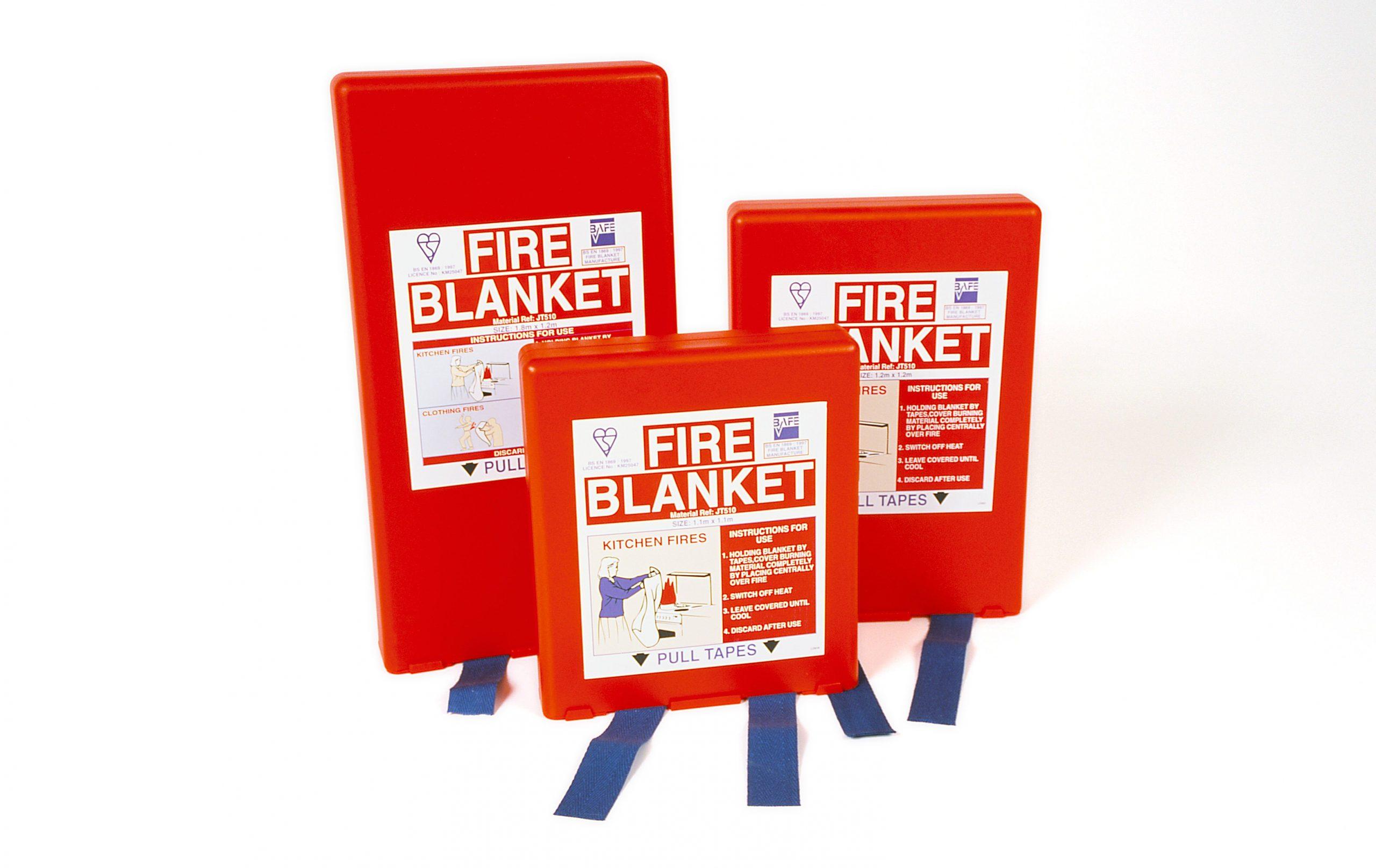 Fire blankets in Kenya